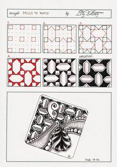 Zentangle & Zentangle Inspired Art ( ZIA ) zendoodle