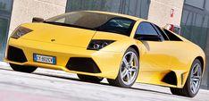 Front Side of Lamborghini Murcielago LP640