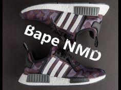 Adidas Bape NMD Purple + A Bathing Ape1 bape  bapestore  bapegirl   yeezyseason 0e294489a