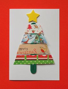 Recycled Christmas Card 5