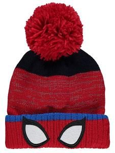 5f1a416cb90 Marvel Spider-Man Bobble Hat – noveltycharacter. Novelty-Characters ·  Spiderman Merchandise For Boys · Women s Winter Warm Knitted Beanie ...