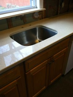 1000 images about our kitchen update on pinterest undermount stainless steel sink almond - Caesarstone sink kitchen ...
