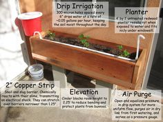 Picture of Passive Gravity Irrigated Planter