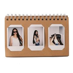 Fujifilm Instax Mini Photo AlbumWoodmin 60 Pockets Calendar Photo Album for Instax Mini Pringo 231 SP 1Polaroid PIC300PPolaroid Z2300 FilmBrown ** This is an Amazon Affiliate link. You can get more details by clicking on the image.