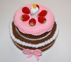 AMIGURUMIS AND CROCHET: CAKE
