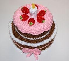 Amigurumis And Crochet Cake Amigurumi more at Recipins.com