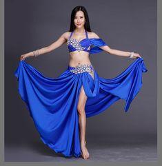 d3555bd641f3 US $82.62 19% OFF|Aliexpress.com : Buy 2018 Women Professional Belly Dance  Costume Set Luxury Bellydance Costumes Stage Performance Diamond Decoration  Bras ...