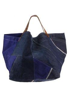 nice patchwork denim bag