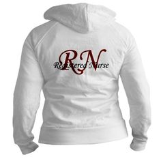 RN [Red] Fitted Hoodie LOOKS LIKE AN AWESOME GRADUATION GIFT. hint hint!