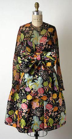 James Galanos (American, born Philadelphia, Pennsylvania, 1924) Date: early 1960s Dress
