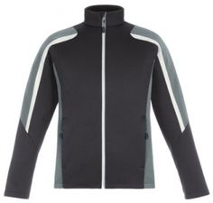 Promotional Products Ideas That Work: NEW STRIKE MEN'S COLOUR-BLOCK FLEECE JACKETS. Get yours at www.luscangroup.com