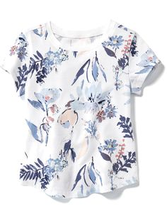 Printed Crew-Neck Tee for Baby | Old Navy