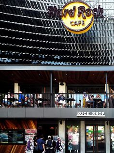 Built by Architectkidd in Bangkok, Thailand The Hard Rock Cafe in Bangkok marks a new approach for the venerable Hard Rock brand. Designers Architectkidd and Pr...