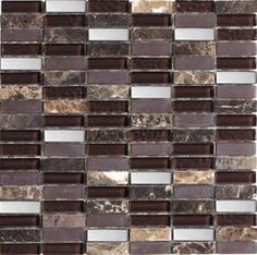 View beautiful mosaic wall tiles in many colours including silver mosaic tiles. Direct Tile Warehouse for trade price mosaic tiles