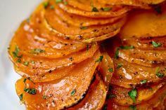 Vegan Candied Lime Sweet Potatoes