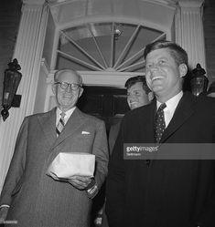 News Photo : President-elect John Kennedy, accompanied by his...