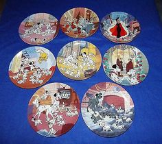 Disney 101 8 plates