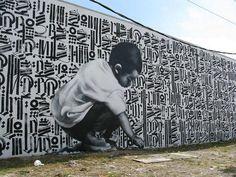 Miami mural Art Basel - Impressive Street Art by El Mac