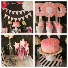 Crafty Texas Girls: Ballet Birthday Party