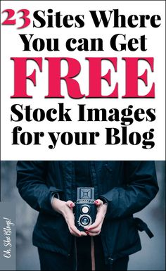 23 sites where you can get free stock images for your blog   Oh, She Blogs!