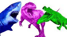 Shark Vs Dinosaur Fight | Crocodile Vs Dinosaur Fighting | Shark Vs Dinosaur Cartoons Shark Cartoons https://youtu.be/LjW_U1LE5Iw