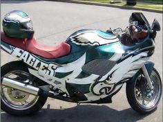 Philadelphia Eagles Inspired Motorcycle