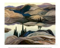 Probably the most famous Canadian artists are Emily Carr and the group of seven. The group of seven (seven Canadian painters) worked in the painting beautiful Canadian landscapes of places like. Group Of Seven Art, Group Of Seven Paintings, Landscape Quilts, Landscape Art, Landscape Paintings, Landscapes, Canadian Painters, Canadian Artists, Tom Thomson