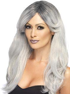 Parrucca Melena bionda liscia lunga top girl