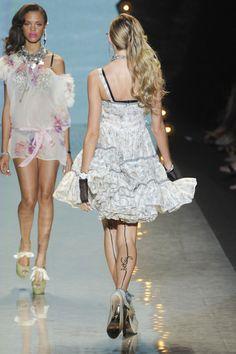 Betsey Johnson at New York Fashion Week Spring 2012
