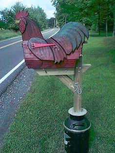chicken mailboxes - Google Search