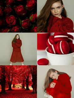 Sadie Sink wallpaper red •Made by Zoomer Tozier•