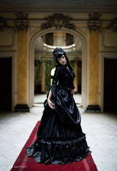 Mina Dracula Gothic viktorianischen Hektik Kleid Hochzeit benutzerdefinierten Gown