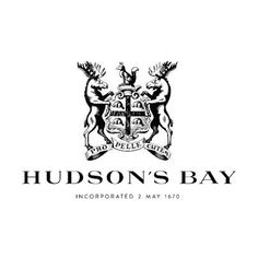 Department store retailer to be called Hudson's Bay; re-branding also restores corporate coat of arms Logo Inspiration, Logos, Logo Branding, Badges, Mark Summers, Old Names, Crest Logo, Crest Tattoo, Canadian History
