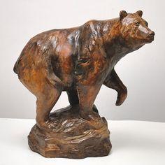 Beautiful Attila sculptures can be ordered at ZuZu's Petals Vintage Home