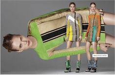 Prontos para a new season Primavera/Verão 2010?? De olho nas tendências heim!  Gucci    Olha o acid jeans aí gente!!!     Fotos: Reprodução