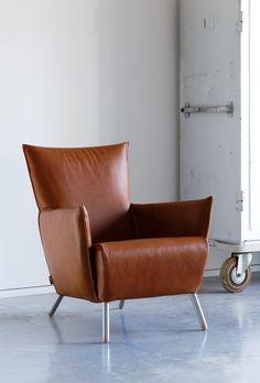 Stoere leren fauteuil - Nieuws - ShowHome.nl