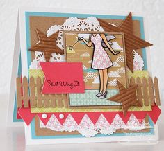 Patterned Paper: September MFTeasers, WTG Fairy Dust and 3D tutorial