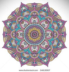 ⊰❁⊱ Mandala ⊰❁⊱ Vintage decorative elements. Hand drawn background. Islam, Arabic, Indian, ottoman motifs.