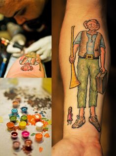 The BFG Tattoo!!!!! Love this book!