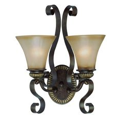 Found it at Joss & Main - Kingsley 2 Light Wall Sconce