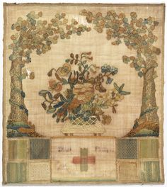 Sampler, late 18th–early 19th century