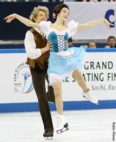Meryl Davis / Charlie White(USA) : ISU Grand Prix of Figure Skating Final 2012