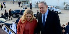 """Netanyahu said he sees """"eye to eye"""" with President Donald Trump on the dangers facing the Middle East as he boarded his plane Monday for his first official meeting with the new American president."""
