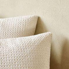 Billede 5 af produktet: Dynebetræk i forvasket, vaffelmønstret percale