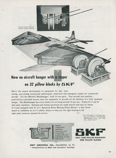 http://www.ebay.ie/itm/1951-SKF-Roller-Bearings-Aviation-Ad-Convair-B-36-Bomber-Hangar-Mobilhangar-/331683447724?hash=item4d39dfc3ac
