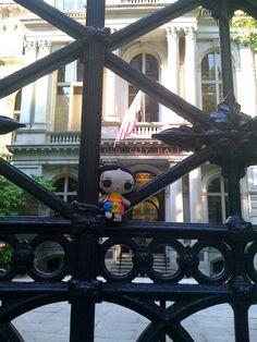 María en su viaje a Boston :)  #Viaje #Artesanías #México #Diseño #MaríasINC #kawaii #boston