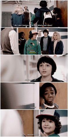 Welcome to Hawkins Middle, Eleanor! #stranger things #1x04 #mike wheeler #eleven #dustin henderson #lucas sinclair  #mr. clarke