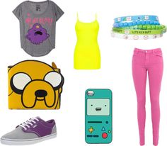 """""""Adventure Time Outfit #2!"""" by cam-162058 on Polyvore"""