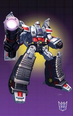 Transformers - Megatron by Dan-the-artguy.deviantart.com on @deviantART