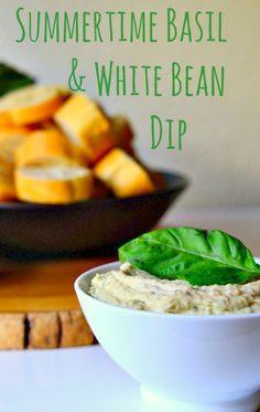 Housevegan.com: Summertime Basil & White Bean Dip - Is it Summer yet ...